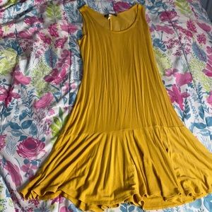 French Atmosphere yellow dress